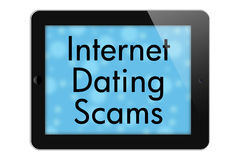 Internet Dating Scams Stock Photography