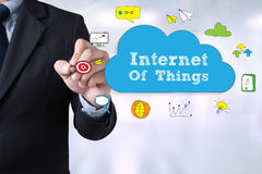 Internet de concept de choses (IoT) photographie stock