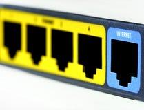 Internet de connexion Photo libre de droits