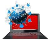 Internet de la seguridad Fotos de archivo