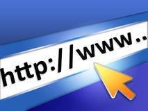 Internet de la tecnología de la información Foto de archivo libre de regalías