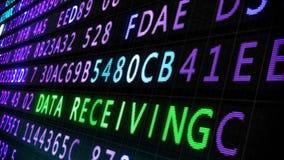 Internet-de lijn van het veiligheidsscherm stock illustratie