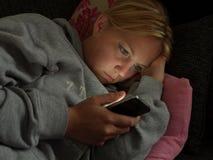 Internet de Smartphone Imagen de archivo libre de regalías