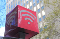Internet de Wifi Imagens de Stock Royalty Free