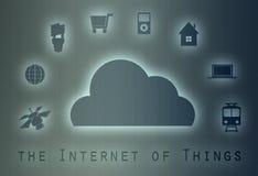 Internet del concepto de las cosas Foto de archivo libre de regalías