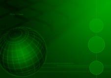 Internet del globo de la informática