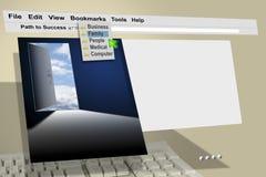 Internet del HTTP del Web de WWW Fotos de archivo libres de regalías