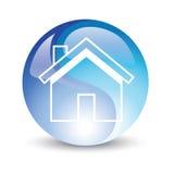 Internet del icono de la casa