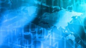 Internet des choses dans le réseau global illustration de vecteur