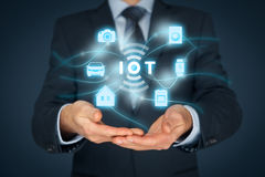 Internet des choses IoT Image stock