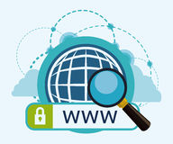 Internet-Design Stockfotografie