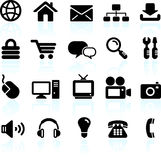 Internet design icon set Stock Images