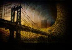 Internet di NYC Fotografie Stock Libere da Diritti