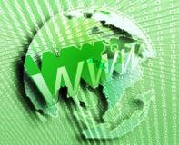 Internet di WWW Immagini Stock