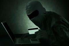 Internet-Diebstahl Stockfotos