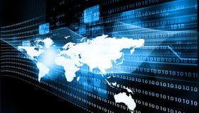 internet dołączająca sieć kształtuje technologie Zdjęcia Stock
