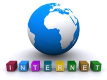 Internet do World Wide Web Imagem de Stock Royalty Free
