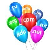 Internet Domain Name Web Concept Stock Image