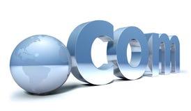 Internet dot.com concept Stock Photos