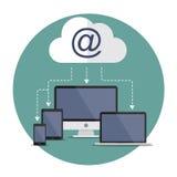 Internet-Download Stockfoto