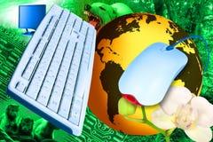 Internet-Dschungel Stockbilder