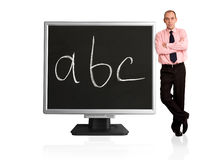 Internet education Stock Photography