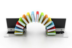 Internet education concept Stock Images