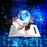 The Internet education Royalty Free Stock Photography