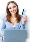 Internet-Einkaufen stockfotos