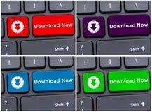 Internet- eller mappöverföringsbegrepp Arkivfoton