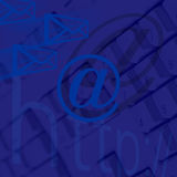Internet-eMail-Bild Lizenzfreie Stockfotos