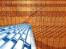 Internet en de steun van de Webtechnologie Stock Afbeelding