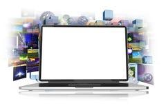 Internet en Media stock illustratie