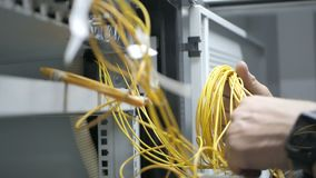 Internet en technologie stock footage