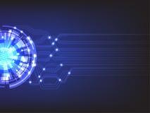 Internet et concept de transmission de données Image stock