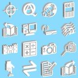 Internet et graphismes de calcul Image libre de droits