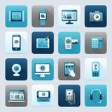 Internet et périphérique mobile illustration stock