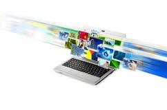 internet för digital kopiering Royaltyfria Foton