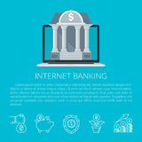 internet för jordklot för kreditering för bankrörelsekortbegrepp planerar betalningvärlden Arkivbilder