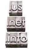 internet för områden info förtjänar oss arkivfoto