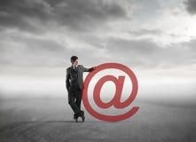 Internet für Geschäft Stockbild