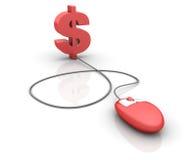 Internet Finances Stock Image