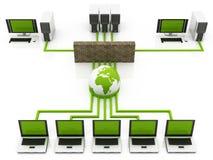 Internet firewall Stock Photography