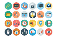 Internet Flat Vector Icons 2 Royalty Free Stock Image