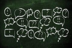 Internet-Foren und on-line-Diskussionen Lizenzfreies Stockfoto