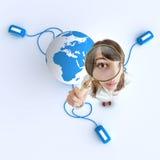 Internet-Forschung Lizenzfreie Stockfotos