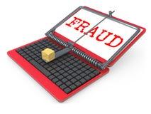 Internet Fraud stock photos