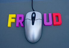 Internet fraud. Stock Photography