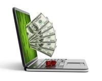 Internet gambling vector illustration