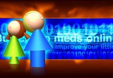 Internet-Gefahren Lizenzfreie Stockbilder